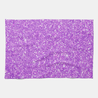 Purple Glitter Luxury Diamond Kitchen Towel