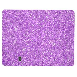 Purple Glitter Luxury Diamond Shine Journal