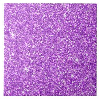 Purple Glitter Luxury Diamond Shine Tile
