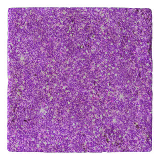 Purple Glitter Luxury Diamond Shine Trivet