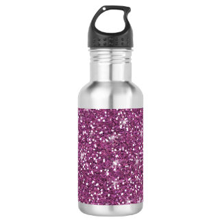 Purple Glitter Printed