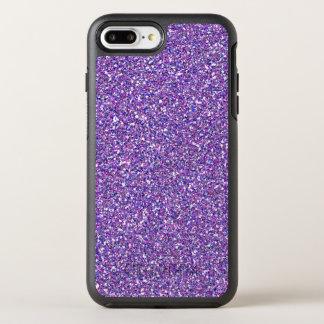 Purple Glitter Sparkle Girly Trendy Modern Pattern OtterBox Symmetry iPhone 8 Plus/7 Plus Case