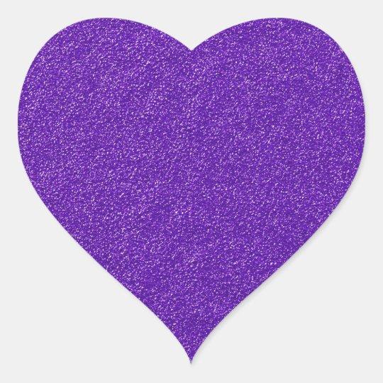 Purple Glitter Sticker