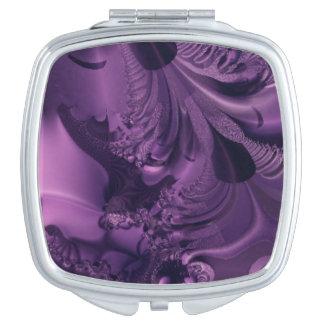 Purple Glory Design Mirror For Makeup