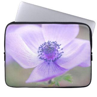 purple glow laptop sleeve