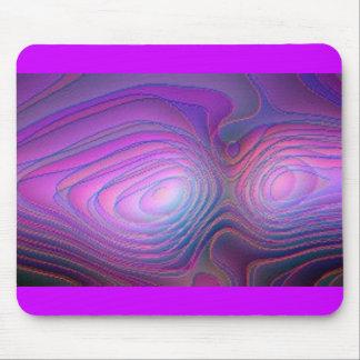 Purple Glow Mouse Pad
