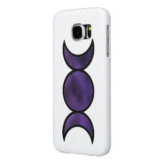Purple Goddess Galaxy s6 phone case