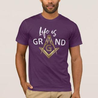 Purple & Gold Masonic T Shirts | Grand Lodge Gifts