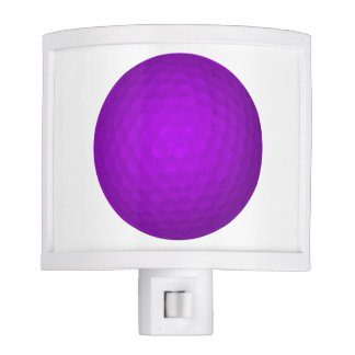 Purple Golfball Nite Light