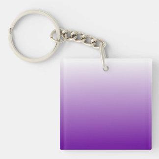 Purple Gradient Keychain