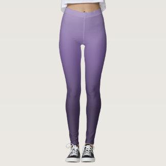 Purple Gradient Leggings