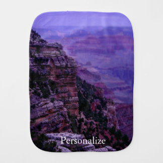 Purple Grand Canyon Burp Cloth