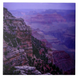 Purple Grand Canyon Photo Tile