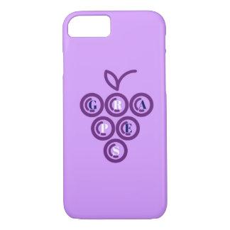 Purple grapes iPhone 8/7 case
