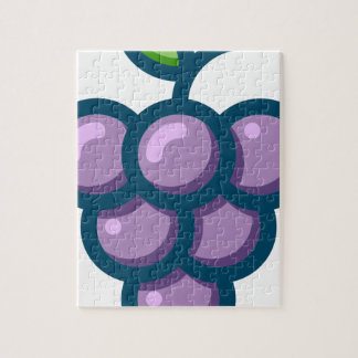 Purple Grapes Jigsaw Puzzle