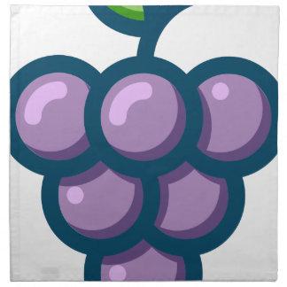 Purple Grapes Napkin