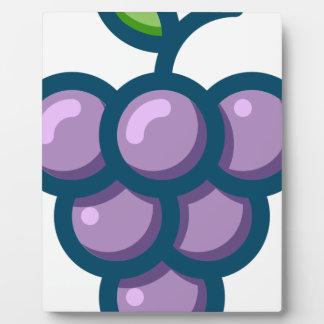 Purple Grapes Plaque