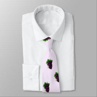Purple Grapes Tie