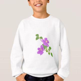 Purple Grass Flower Sweatshirt