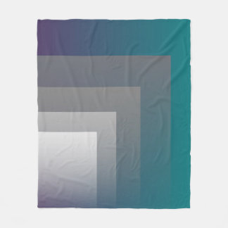purple gray teal fleece blanket