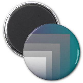 purple gray teal magnet