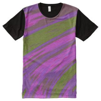 Purple Green  Colour Swish