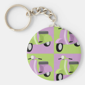 Purple & Green  Keychains