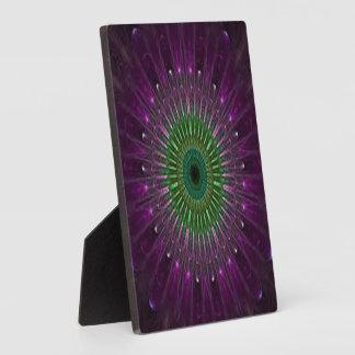 Purple & Green Mandala Plaque