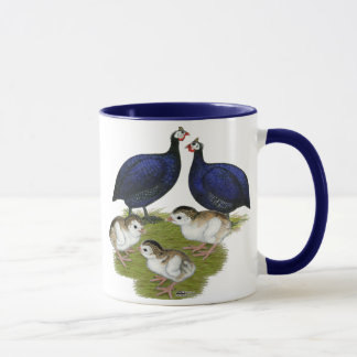 Purple Guinea Family Mug