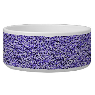 Purple Hail Ceramic Pet Bowl