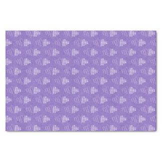 Purple Happy Birthday Tissue Paper