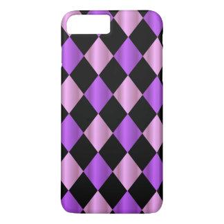 Purple Harlequin iPhone 7 Plus Case