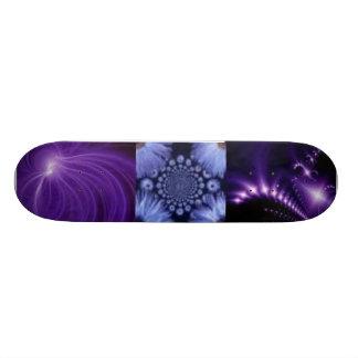 Purple Haze Abstract Skateboard