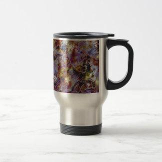Purple Haze Abstract Travel Mug