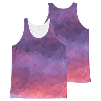 Purple Haze All-Over-Print Tank Top