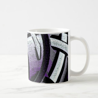 purple haze basic white mug