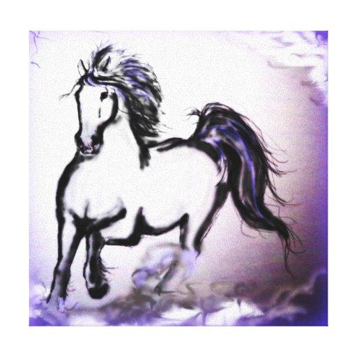 """""""Purple Haze"""" by Debi Blount Gallery Wrapped Canvas"""