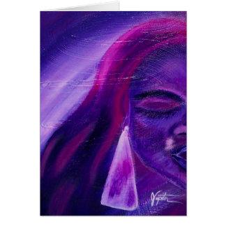 Purple haze greeting cards