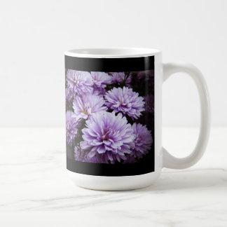 Purple Haze Chrysanthemums Classic White Coffee Mug
