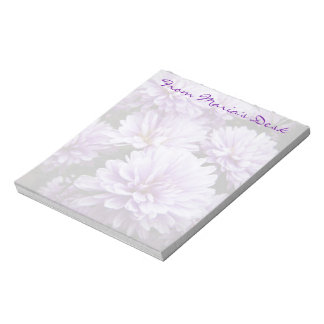 Purple Haze Chrysanthemums Notepad