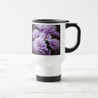 Purple Haze Chrysanthemums Stainless Steel Travel Mug