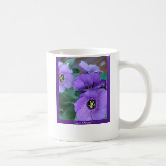 "Purple Haze - ""Dew Drops"" Basic White Mug"