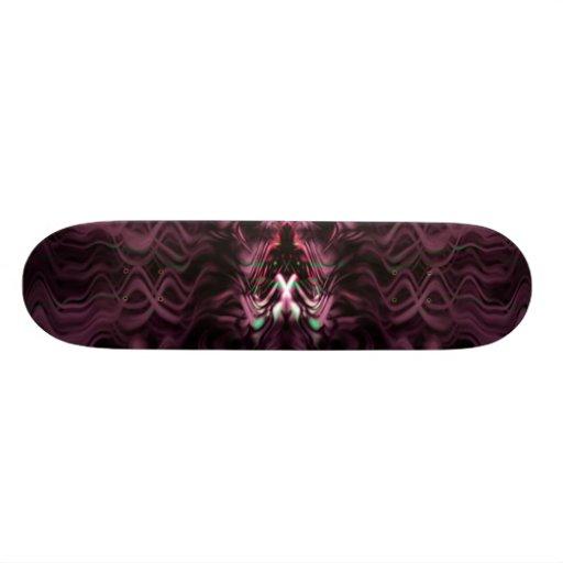 purple haze dragon custom skateboard