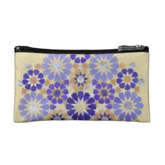 'Purple Haze' Islamic geometry bag Makeup Bag