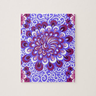 Purple haze jigsaw puzzle