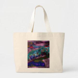 Purple Haze Jumbo Tote Bag