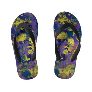 Purple Haze Kid's Flip Flops