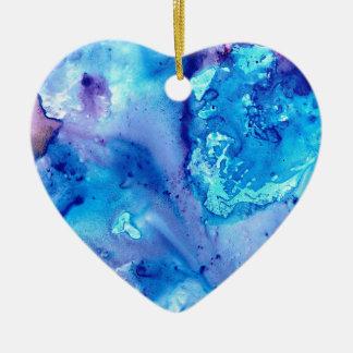 Purple Haze Luna #5 Ceramic Ornament