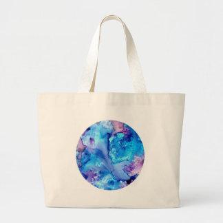 Purple Haze Luna #5 Large Tote Bag