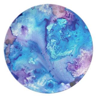 Purple Haze Luna #5 Plate